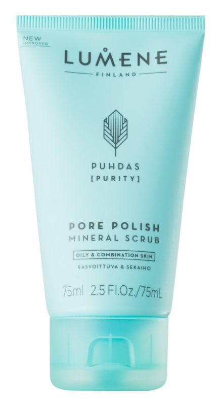 Lumene Cleansing Puhdas [Purity] Cleansing Mineral Scrub for Oily and Combination Skin